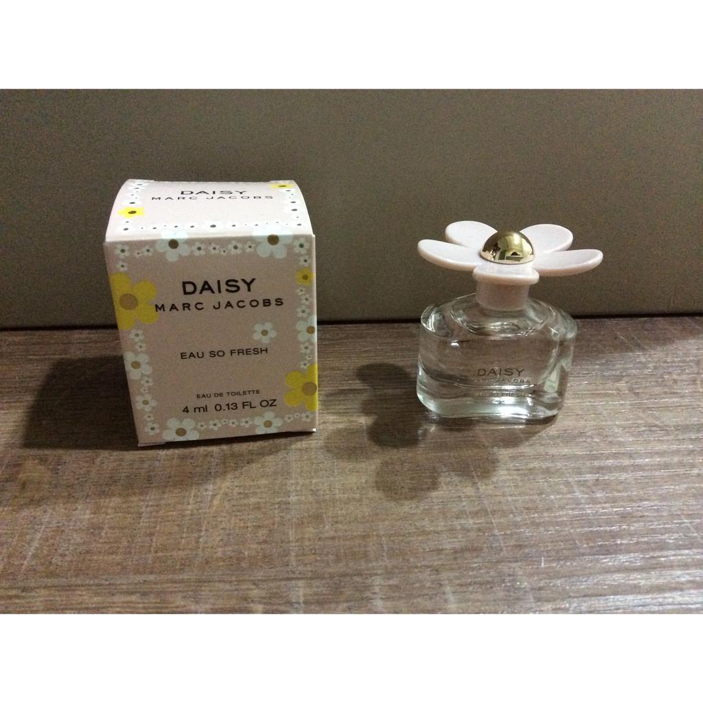 Marc Jacobs Daisy EAU 清甜雛菊女性淡香水4ML 小香水