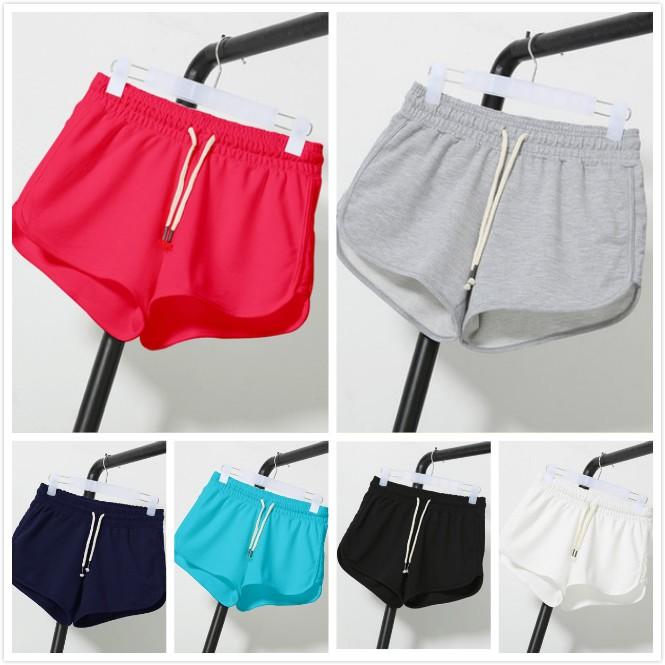 短褲寬鬆加大休閒褲大碼闊腿熱褲跑步褲