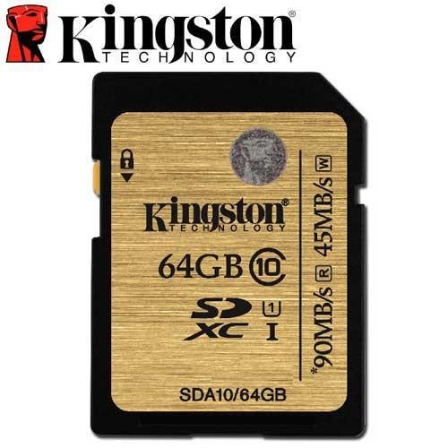 含稅90MB s 金士頓SDHC SDXC SD U1 C10 記憶卡SDA10 16G