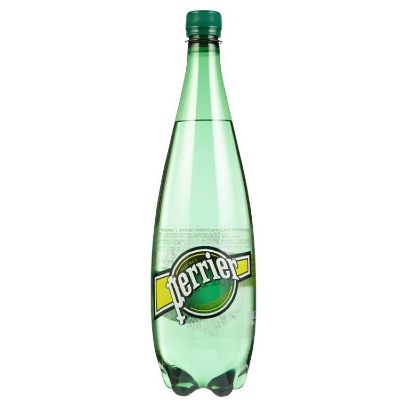 6 瓶法國Perrier 沛綠雅天然氣泡礦泉水1000ml