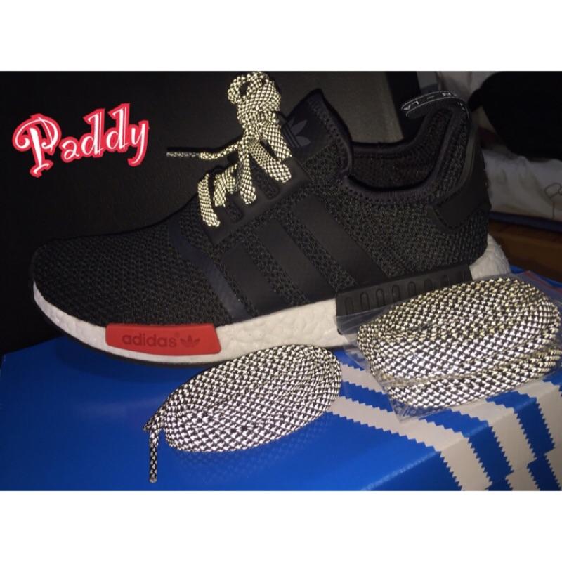 Adidas NMD 3M 反光扁線鞋帶
