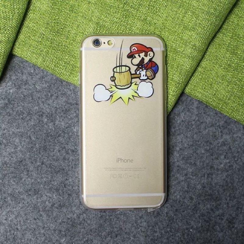 五送一內多圖超級瑪莉瑪莉歐瑪莉兄弟蘋果Iphone5 5s 6 6s 手機殼軟殼