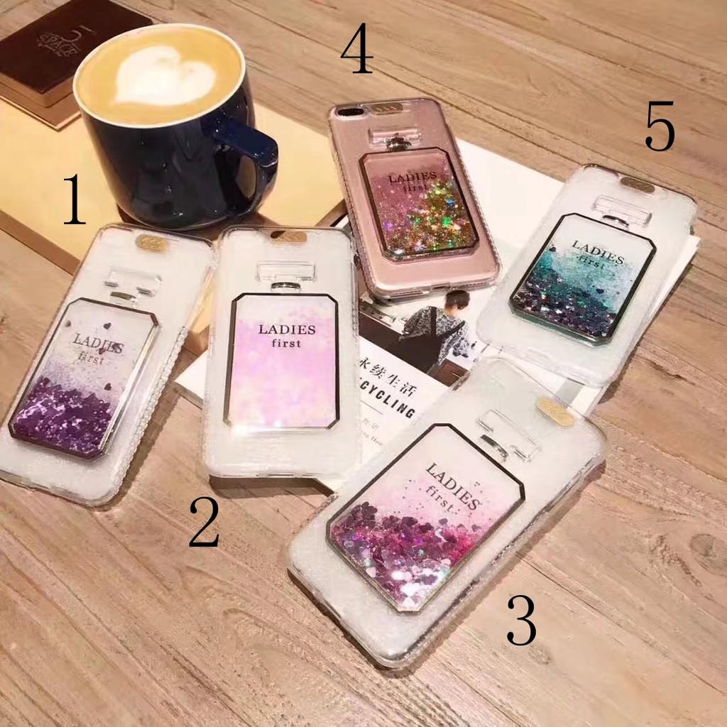 香水瓶奢華大牌iPhone6 6plus 來電閃流沙手機殼7 7plus 動態閃粉全包防摔