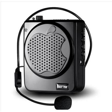 充電式教學麥克風可接mp3 USB 播放音樂連續 15 小時小蜜蜂擴音機大聲公黑白