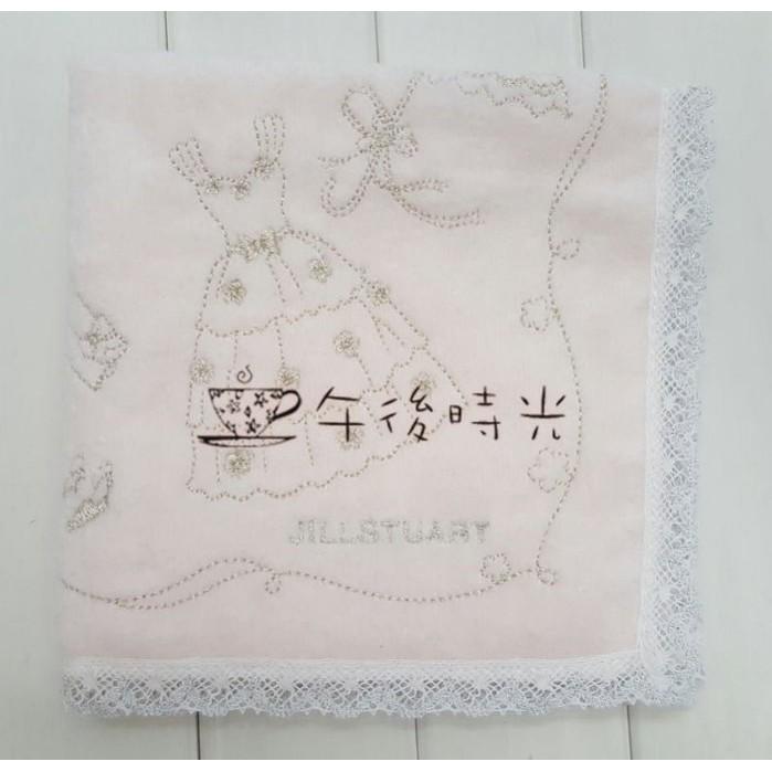 ~午後時光~ JILLSTUART 姐妹禮探房禮伴娘禮婚禮小物柔軟精美婚紗洋裝刺繡手帕小方