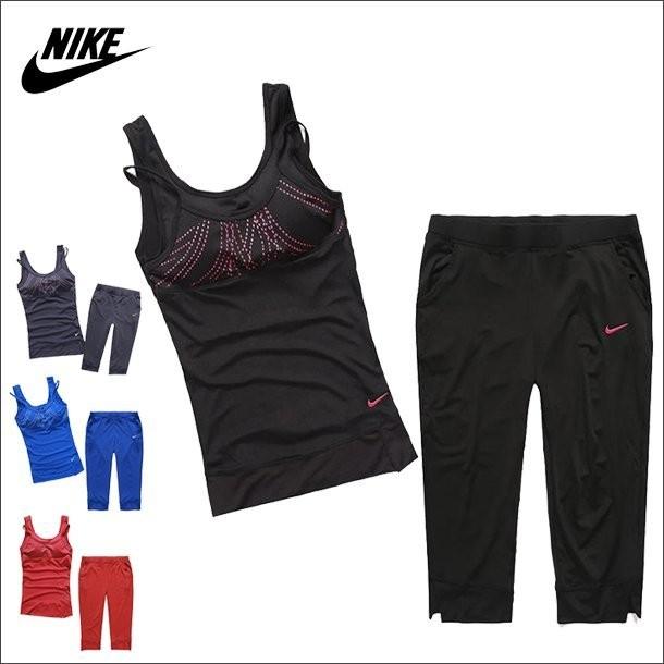 PT 私人教練NIKE PRO 女 套裝健身七分褲高包覆亮麗線條緊身背心瑜珈緊身褲高包覆力