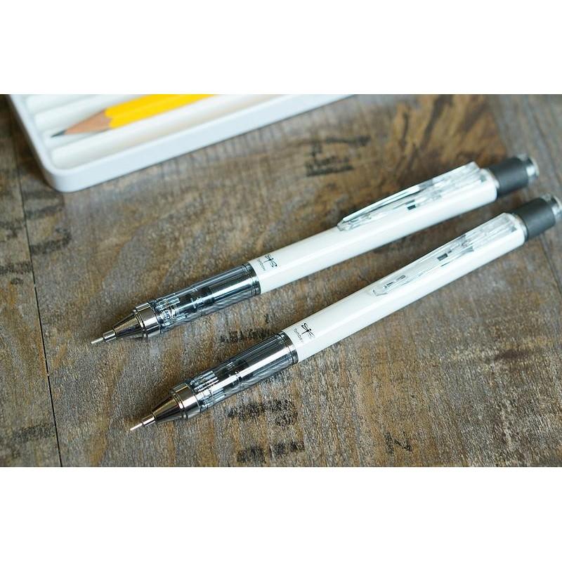 無塗裝特別版 Tombow 蜻蜓MONOgraph 純白自動鉛筆0 5mm 最划算製圖鉛筆