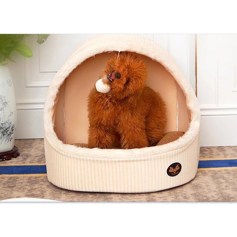 四季貓窩蒙古包可拆洗泰迪博美狗窩中小型四季寵物窩貓用品