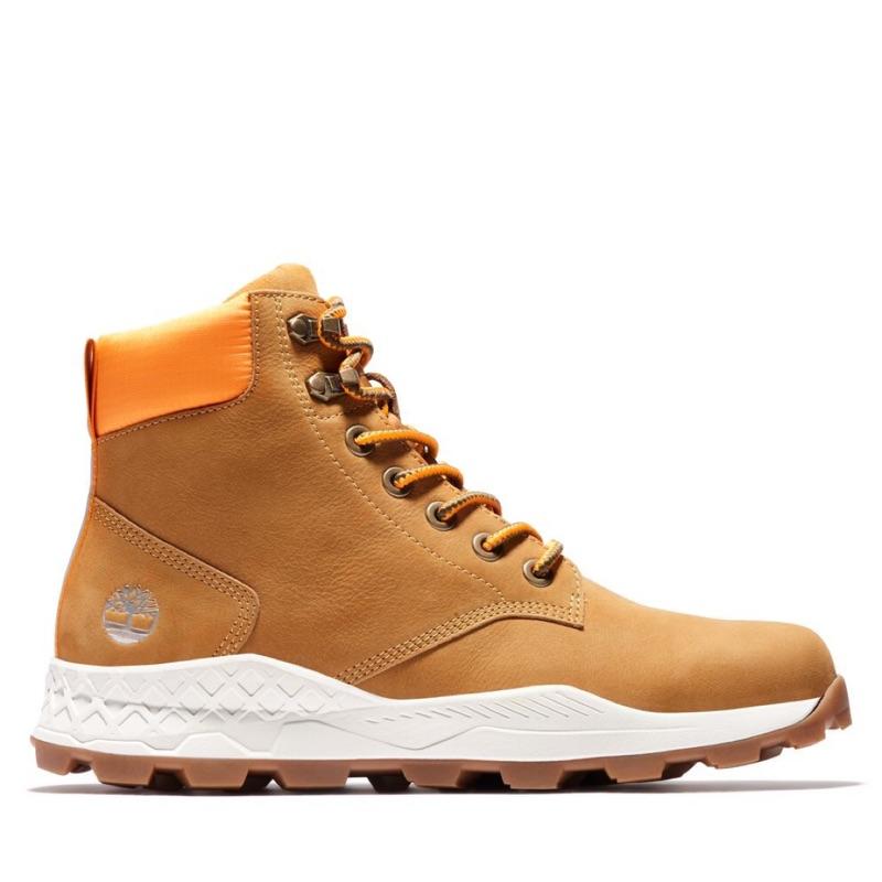 Timberland 男款 小麥色 Brooklyn 磨砂革 休閒靴