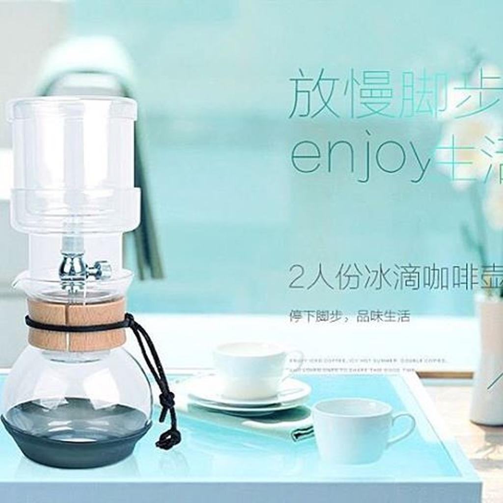 MOAI 咖啡冰滴壺冰釀2 人份6 人份10 人份 雙閥門系統