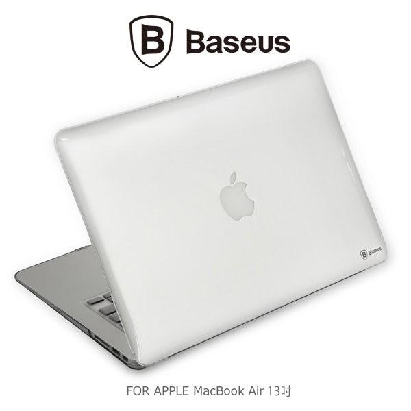 倍思APPLE MacBook Air 13 吋太空殼蘋果筆電外殼背殼透明殼硬殼