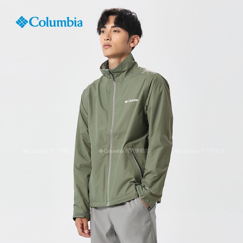 Columbia哥倫比亞戶外20春季新款男士春秋防水沖鋒衣外套WE0049
