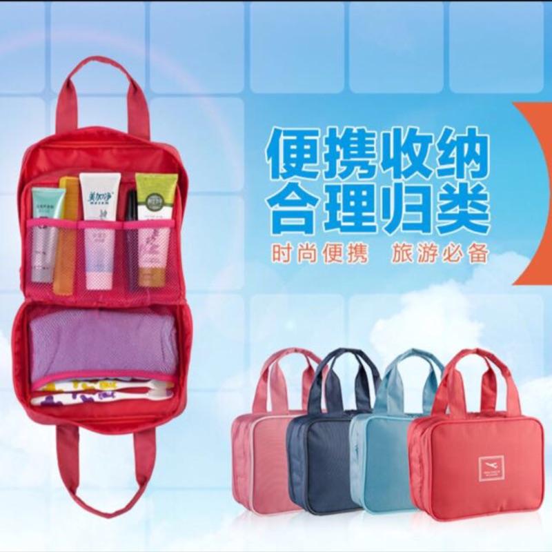 收納袋便攜式收納洗漱包多 手提包萬能收納包