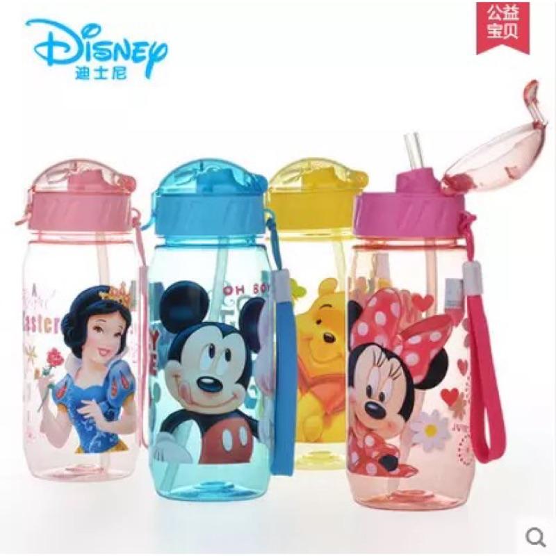 迪士尼卡通吸管水壺400ml
