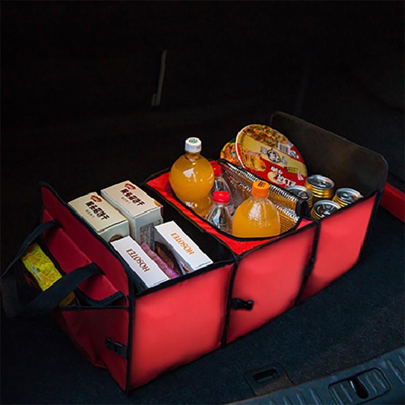 kabe 集081065 汽車后備箱收納箱車內整理箱車用儲物箱車載雜物置物箱 零售版媽 活