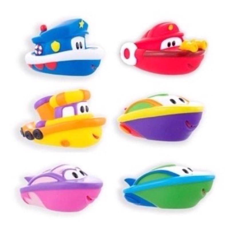 寶寶戲水洗澡玩具快艇噴水小船 色 安全無毒不含BRT