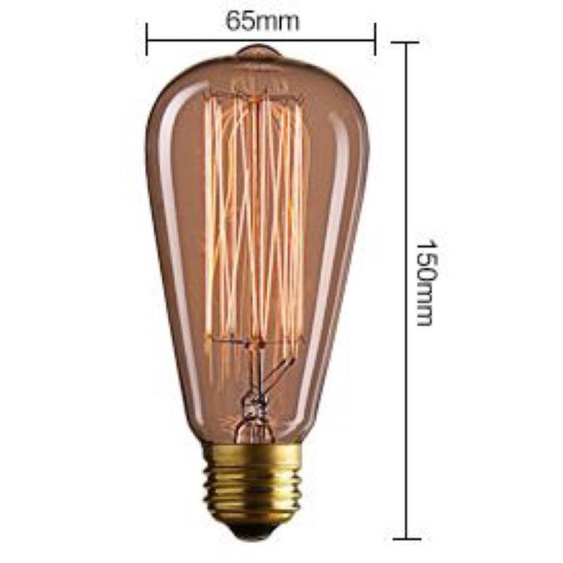 麻友 照明愛迪生40W 燈泡110V 220V 及LED 4W 燈泡全電壓均E27