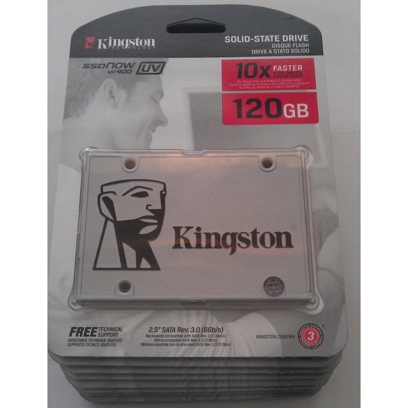 金士頓Kingston UV400 120G 120GB SSD SUV400S37 12