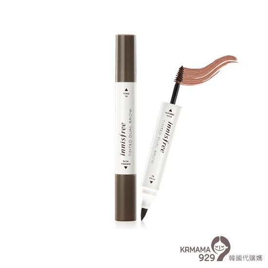 KRmama929 Innisfree 雙頭液體眉筆染眉膏
