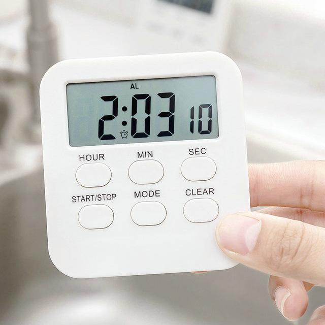 計時器 立式 鬧鐘 電子鬧鐘 廚房烘培 定時器 倒計時 帶磁鐵鬧鐘