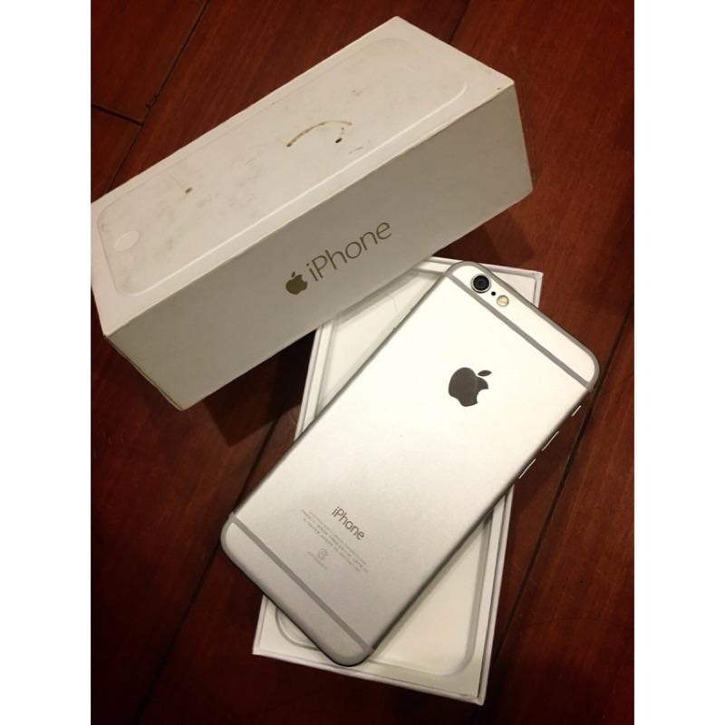 iPhone 6 銀色64g 4 7 寸 中古機