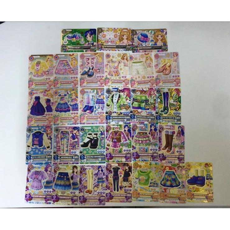 偶像學園第二季第四彈第4 彈普卡N 卡全套28 張卡片掉機台即妥善保存未刷含3 張頭飾