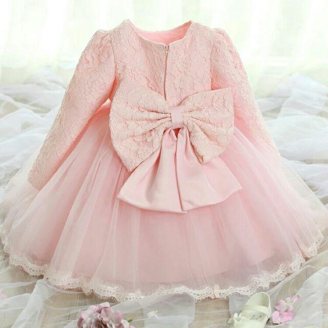 女童寶寶公主裙兒童禮服抓週花童大童表演蓬蓬裙