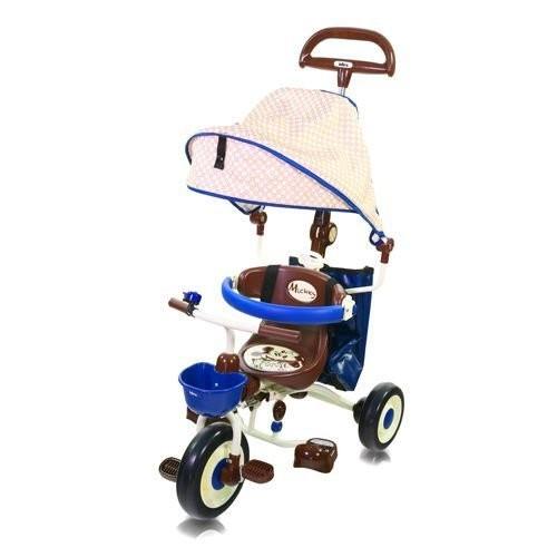 玳玳的玩具店米奇米妮摺疊敞篷三輪車ides 迪士尼可折疊三輪車兒童騎乘全場最低限