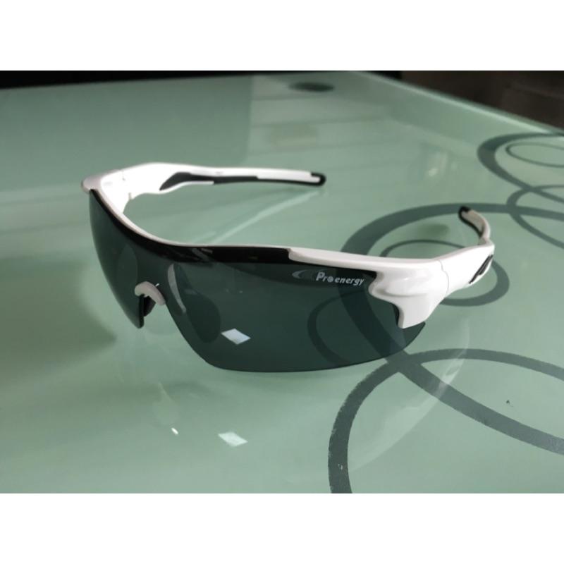 Proenergy 休閒 太陽眼鏡1427 鼻墊可調棒壘路跑自行車駕駛~含擦拭型眼鏡袋及眼