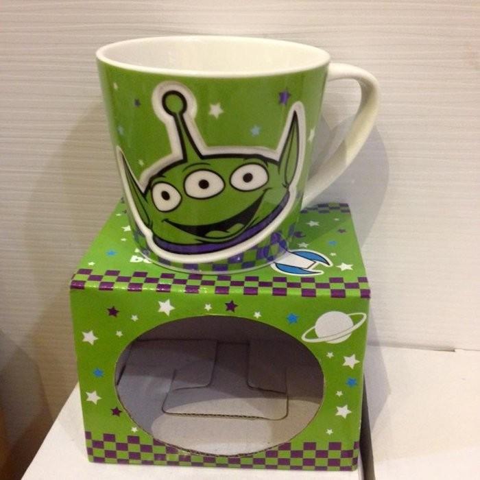 迪士尼系列 迪士尼皮克斯三眼怪玩具總動員阿三壓紋 馬克杯杯子