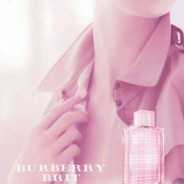 正貨 5ml BURBERRY 粉紅風格女性淡香水5ml