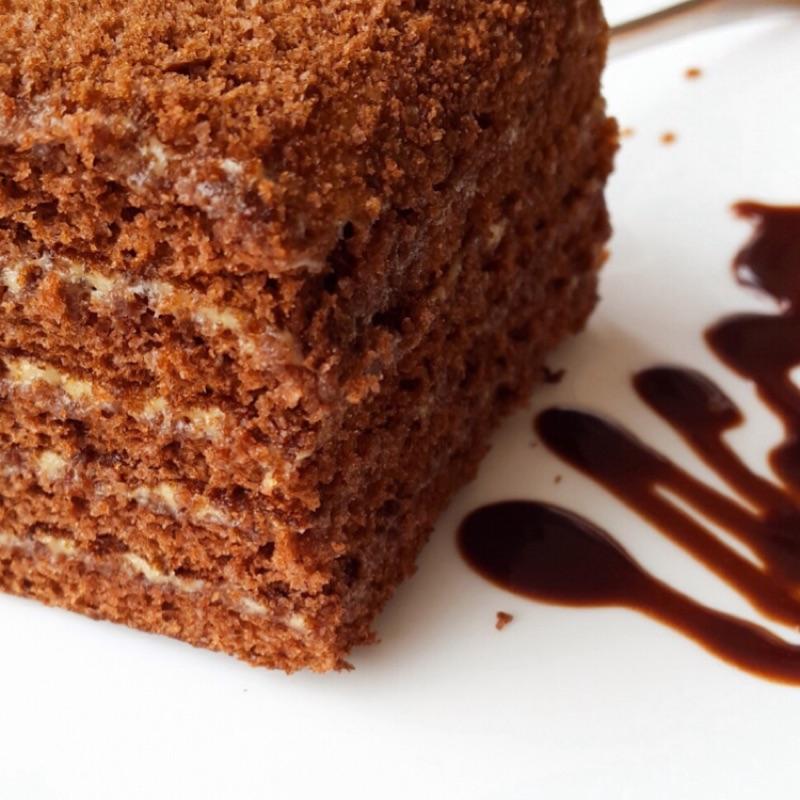 巧克力蜂蜜千層蛋糕