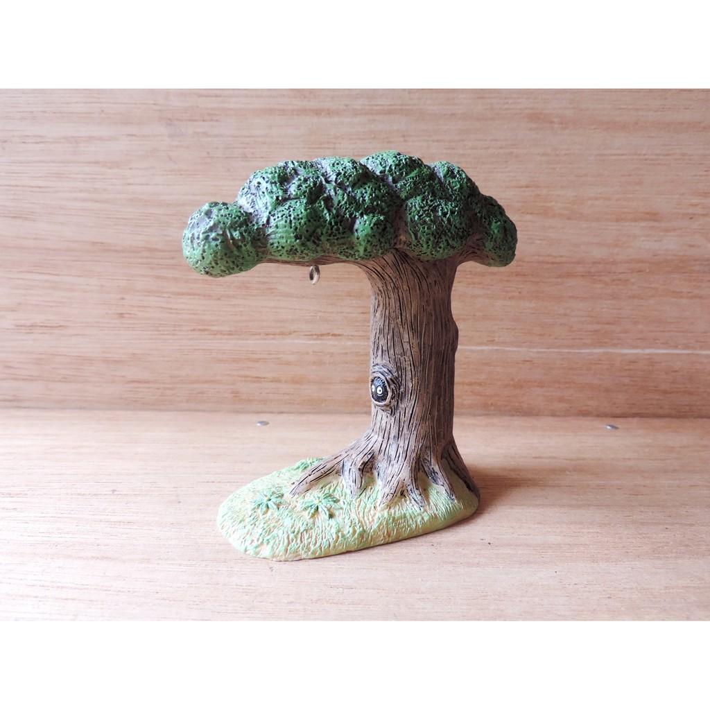多肉植物花盆裝飾龍貓樹洞 擺飾療癒小物