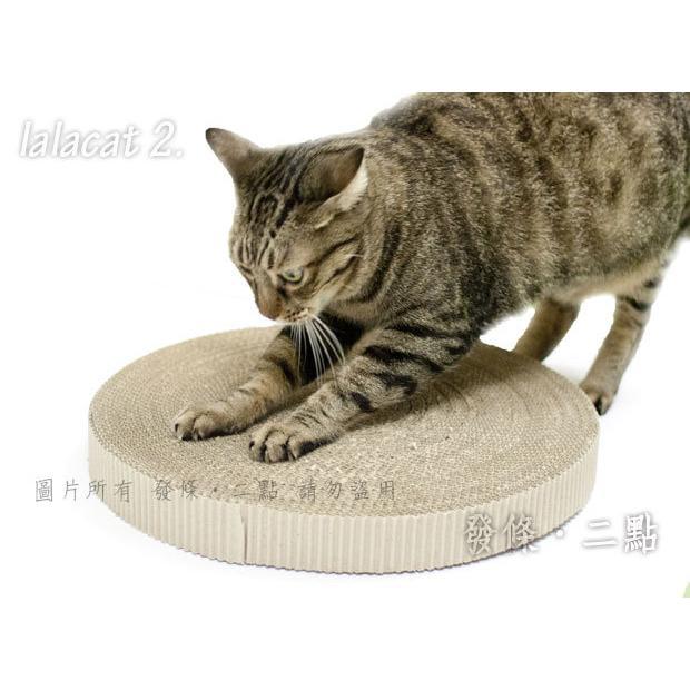 大餅抓板35 號圓型貓抓板直徑35cm 高約4cm goodcat32