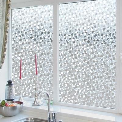 玻璃貼膜衛生間窗貼靜電無膠透光不透明浴室廚房窗戶防透玻璃紙