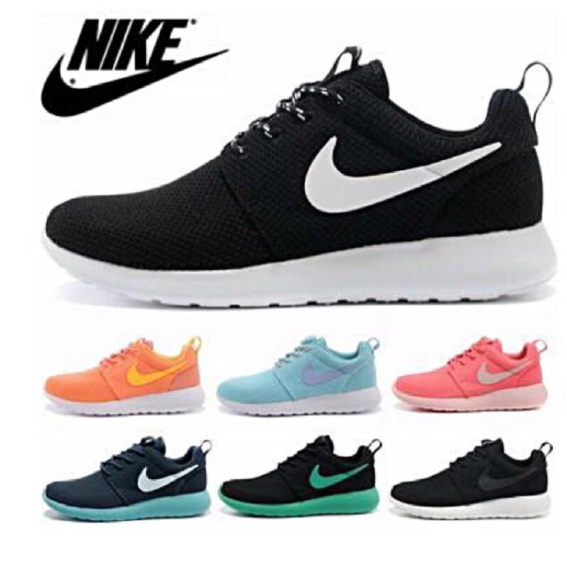 正品Nike Roshe Run 迷彩系列超輕量慢跑鞋透氣輕跑鞋舒適輕鬆 鞋夜跑休閒鞋情侶
