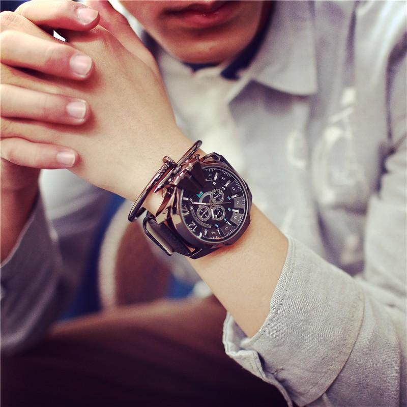 陳冠希bigbang 同款大錶盤手錶男士超大男表 潮牌 潮表