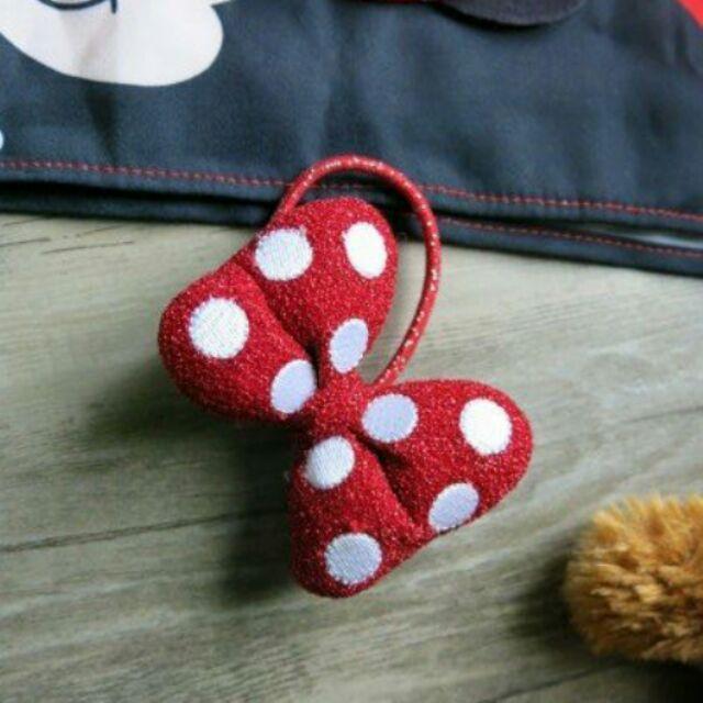 收藏迪士尼米妮立體蝴蝶結 髮束髮飾兒童髮束