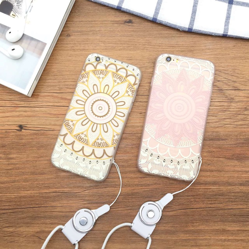 i7 浮雕圖騰iphone6 6s 手機殼i7plus 蘋果i6plus 全包邊軟殼i6s