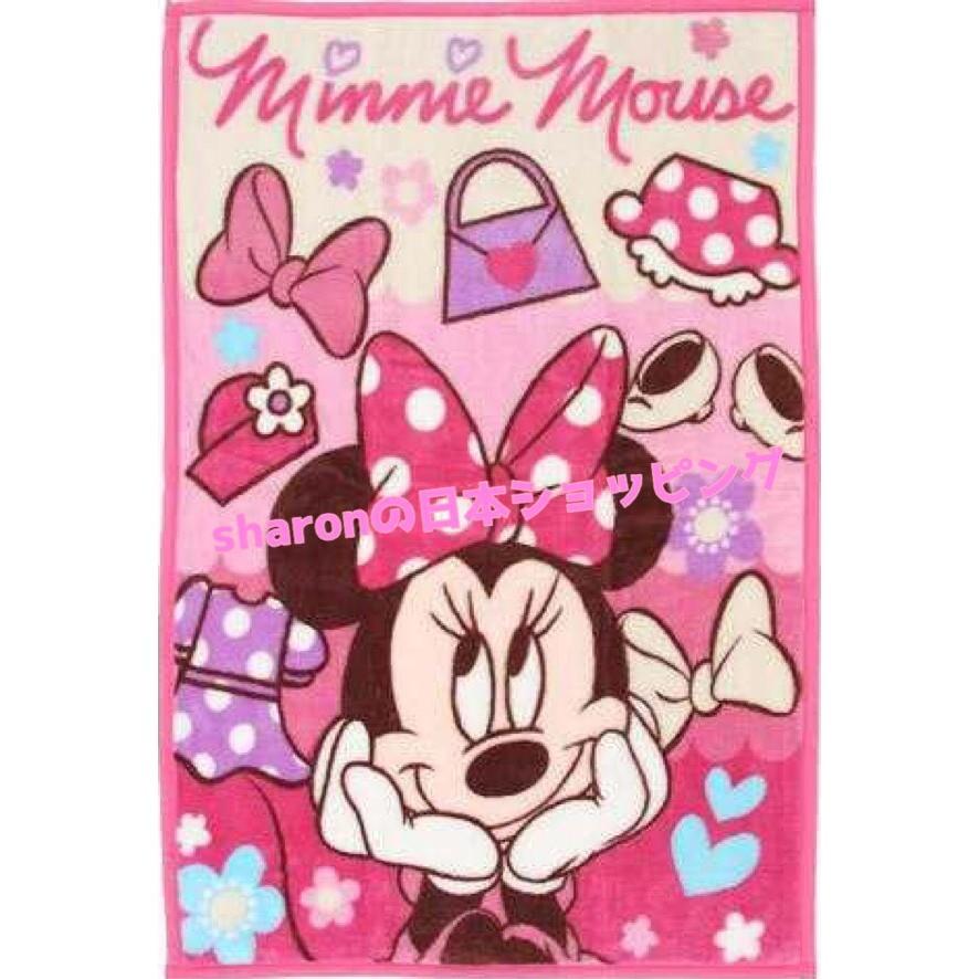 ~☀Ⓢⓗⓐⓡⓞⓝ  迪士尼‧千趣會毛毯~kitty 米妮玩具總動員奇奇蒂蒂超可愛噠✌✌~