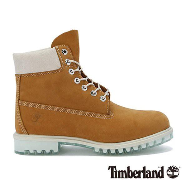 Timberland 男款小麥黃厚領綁帶防水6吋靴 全新正品 5200下標就賣 US10號
