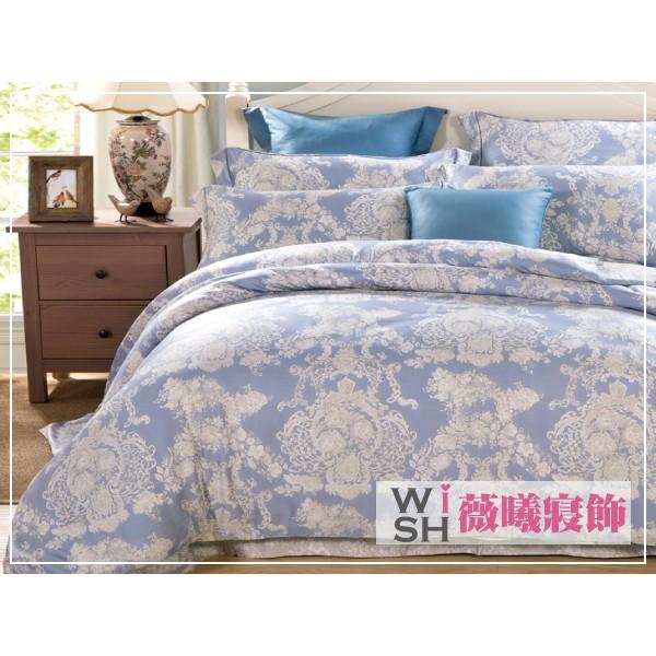 WISH CASA ~愛的華曼~MIT  100 舒柔棉兩件式單人薄床包組 ❤ 不用等