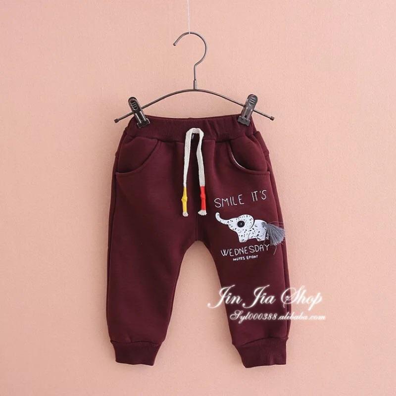 ❤️ ❤️ 男童小象加絨長褲