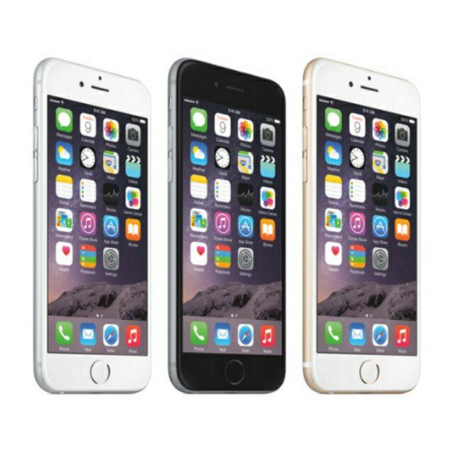 蘋果Apple iPhone 6 16g 美版 品空機價金銀灰 64g 跟6 plus 不