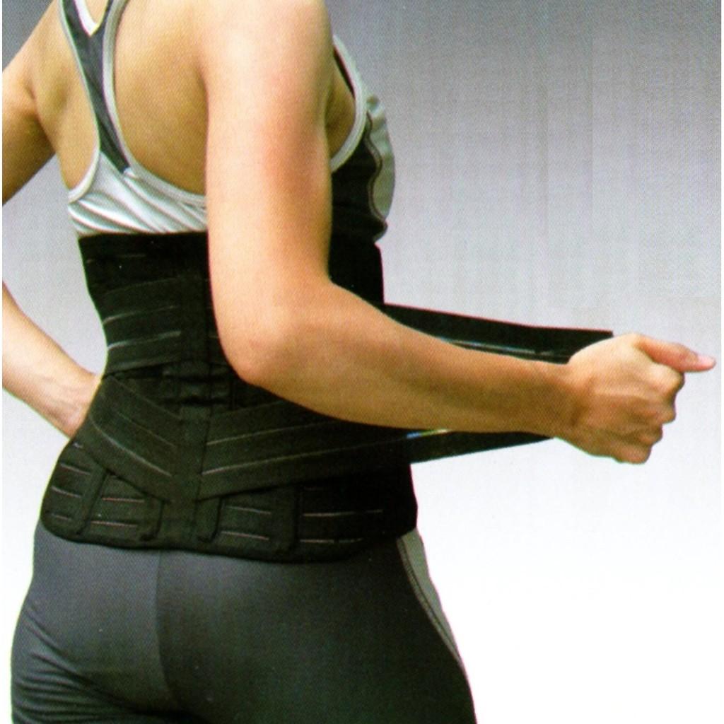 ~竹炭遠紅外線~雙層寬版護腰帶束腹束腰黑色尺寸S 、M 、L 、X L ~免 ~
