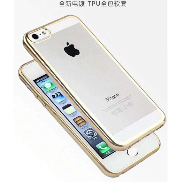 透明蘋果iPhone 6 6s plus SE 5 電鍍軟殼超薄0 3mm 手機殼超薄防摔