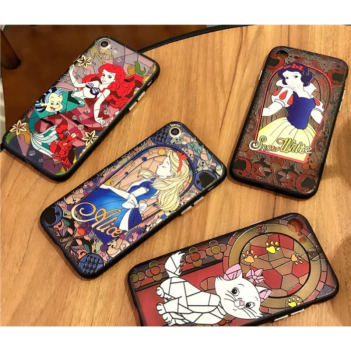 iPhone7 、iPhone6 6s 4 7 吋5 5 吋❗️白雪公主美人魚瑪麗貓手機殼