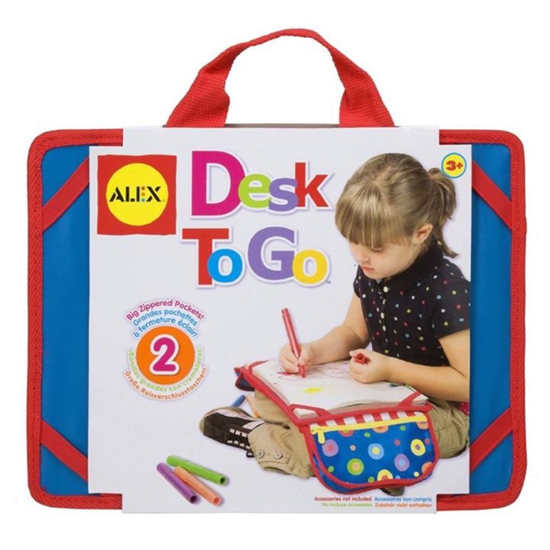 ALEX Toys Artist Studio Desk To Go Alex 桌遊