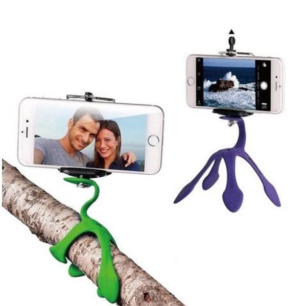 GekkoPod 第 壁虎支架世上最靈活的手機架相機架GOPRO 相機手機桌上型腳架
