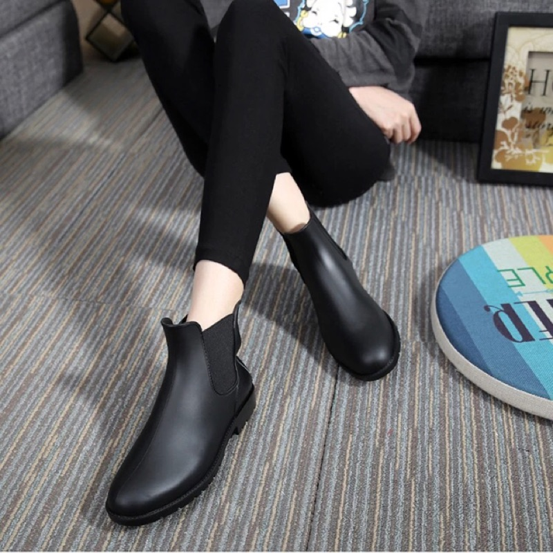 低筒雨鞋女 短靴雨靴 雨鞋防水鞋